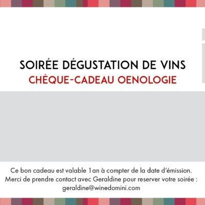 cheque cadeau wine domini